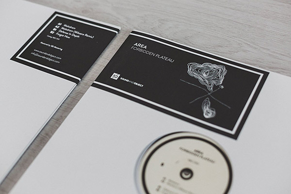 Area - Forbidden Plateau vinyl on Sound & Object