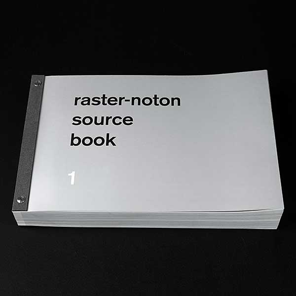 Raster-Noton 20 year book and compilation